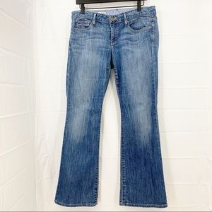 Gap 1969 Premium Curvy Bootcut Medium Wash Jeans